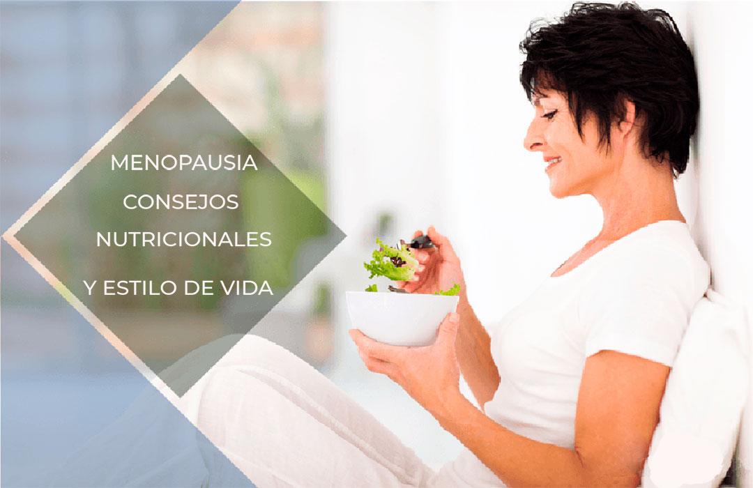 Menopausia. Cambios Corporales Consejos nutricionales